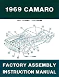 A MUST FOR OWNERS, MECHANICS & RESTORERS - THE 1969 CHEVROLET CAMARO FACTORY ASSEMBLY INSTRUCTION MANUAL Covers Standard Camaro, Coupe, Z/28, Rally Sport, RS, Super Sport, SS, LT, Convertible. CHEVY 69