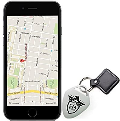 Key Finder - Phone Finder, keychain Locator, Purse Finder & Any Item Finder - Find Lost Whistle Sound Control And GPS Tracker 1 pack from CIA