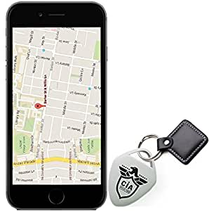Key Finder - Phone Finder, keychain Locator, Purse Finder & Any Item Finder - Find Lost Whistle Sound Control And GPS Tracker 1 pack