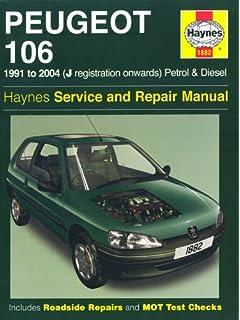 Peugeot 106 Petrol and Diesel Service and Repair Manual: 1991 to 2004 (Haynes Service