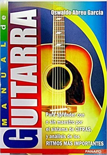 Manual de Guitarra: Oswaldo Abreu Garcia: 9789802302376: Amazon.com: Books