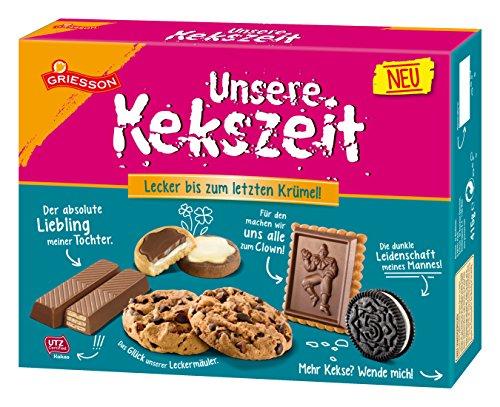 Griesson Unsere Kekszeit, 3er Pack (3 x 0.415 kg)