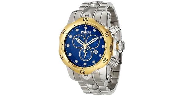 Amazon.com: Invicta Mens 10798 Venom Analog Display Swiss Quartz Silver Watch: Invicta: Watches