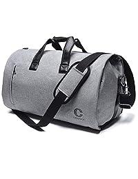 Crospack - Bolsa de viaje para ropa de negocios, bolsa de viaje, bolsa de viaje, bolsa de viaje, gris, One_Size
