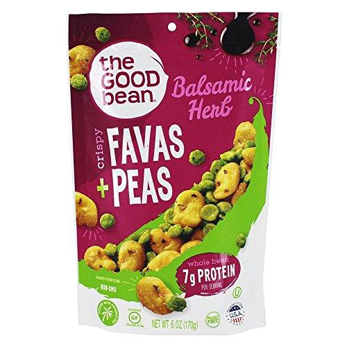 - The Good Bean Fava/peas - Balsamic Herb - Case Of 6 - 6 Oz