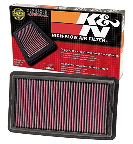 K&N engine air filter, washable and reusable:  2013-2019 Chevy/Cadillac (Camaro, ATS, CTS) 33-2496
