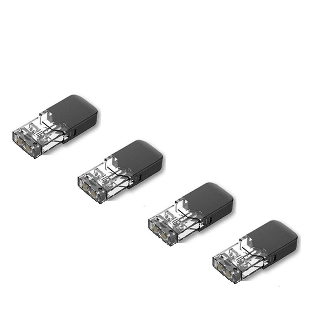 Ecigarette Replacement Atomiser Pods for OVNS JC01 Pod Kit Vewitcher Coils JC01 Sub Evod E Shisha Pen Replacment Tanks 4Pcs/Pack