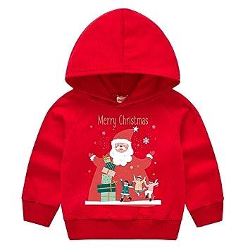 Santa Hat Unisex Pullover Hoodie PUSHING BLACK Merry Christmas