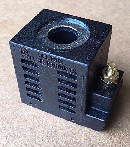 SPX Fenner Stone EF-1126 Deltrol 10164-13 12VDC Solenoid Coil 16W Single Stud