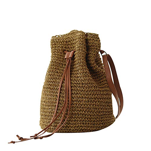 Crochet Drawstring Purse - 3
