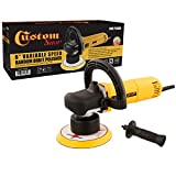 Custom Shop Heavy Duty 6'' Variable Speed Random Orbital Polisher with 6 Amp, 110-Volt, 710-Watt Motor