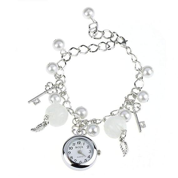 Amazon Com Quartz Charms Bracelet Wrist Watchalalaso Women Girl