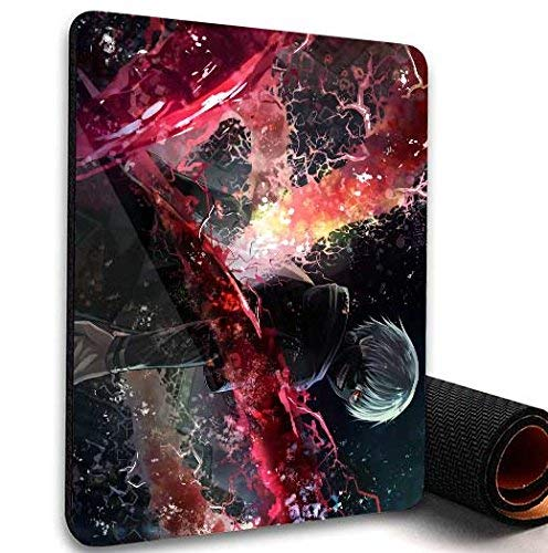 Tokyo Ghoul Manga Thin Anti-Slip Mice Pad Mat Mouse Pad For Optical Laser Mouse