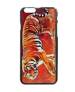 Bengal Tiger Durable Hard Unique Case For iPhone 5 5S - Black Case