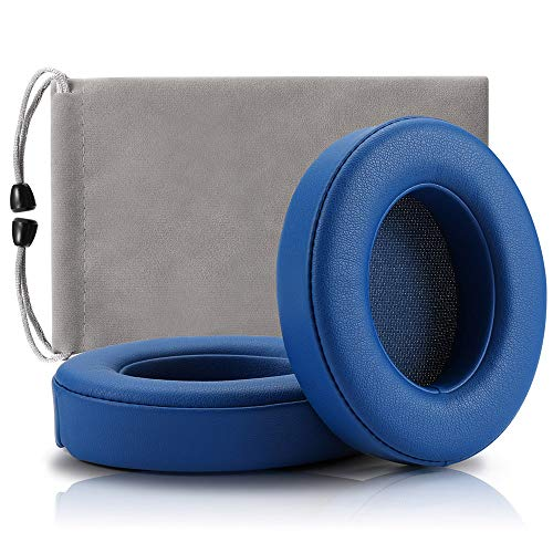 Replacement Ear Pads for Beats,Cushions Compatible with Beats Studio 2 Wireless Wired and Studio 3 Over Ear Headphones 1 Pair (Blue)