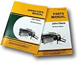 Set John Deere 336 Square Baler Owner Operator Parts Manual Catalog Twine & Wire