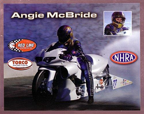 Pro Stock Motorcycle - ANGIE MCBRIDE NHRA HERO CARD PRO STOCK MOTORCYCLE VF