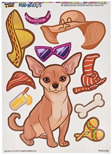 Graphics More Chihuahua MAG NEATOS Refrigerator