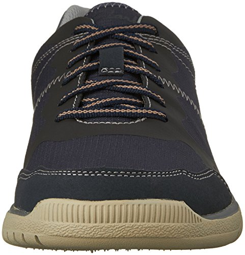 Edge Mens Oxford Mens Votta Votta Navy Taupe CLARKS CLARKS Synthetic xOXAXngv