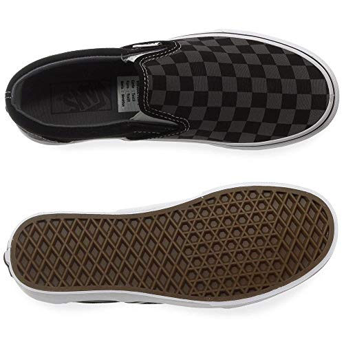 Classic Baskets Adulte Checkerboard Vans Gris Mixte on Slip 4wPqU1dZUn