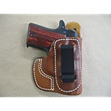 Sig Sauer P238 IWB Molded Leather Inside The Waistband Conceal Carry Holster TAN RH