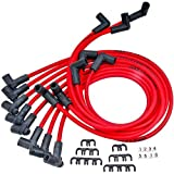 JEGS Performance Products 40210 8.0mm Red Hot Pow'r Wires