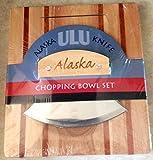 Boxed Alaska Ulu Knife Kitchen Set Chopping