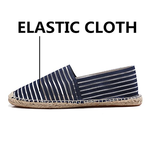 Casual Scuro Elastico Panno Uomo Toptak Classics Scarpe Blu Blu Scarpe Basse Sportive Alpargatas S0FqAwpPq