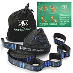 FEATURES: Easy to setup in seconds Supports up to 1000 lbs per strap 100% polyester will not stretch Tree Friendly - The 1 inch flat strap design will not harm trees HAMMOCK STRAPS PACKAGE  2 X Hammock tree straps 2 X Carabiner hooks 1 X...