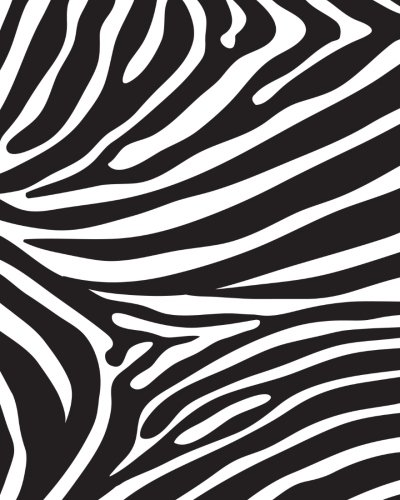 Journal Notebook Funky Wild Animal Print Zebra 1: 172 Lined Numbered Pages With 3 Index Pages For Easy Organization in Large 8 x 10 Size For ... (More Artsy Lined Journals) (Volume 66) PDF