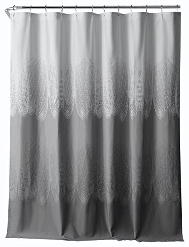 Curtains Ideas black cloth shower curtain : Brown Cotton Shower Curtain Bath: Amazon.com