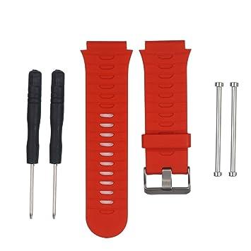 samLIKE suave silicona Strap para reloj de pulsera + LUGS ...
