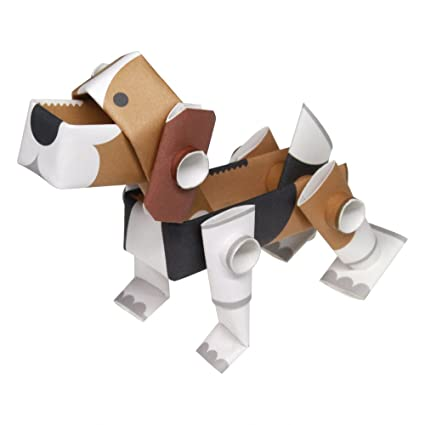 Amazon Piperoid Animals Dogs Beagle Paper Craft Kit From
