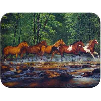 Tuftop Spring Creek Run Cutting Board Size: Small (9