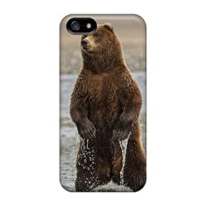 For Iphone Cases, High Quality Brown Bear For Iphone 5/5s Covers Cases