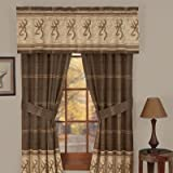 Buckmark Valance in Brown Review