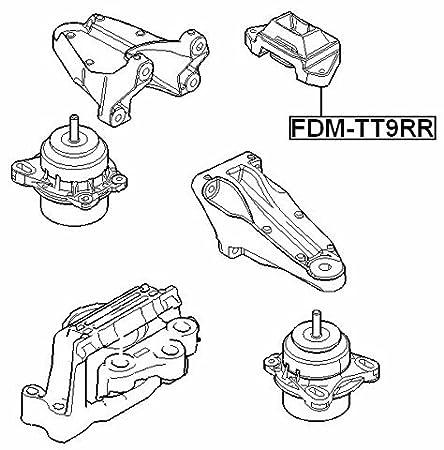 amazon rear engine mount febest fdm tt9rr oem 1485355 automotive Stanadyne Fuel Treatment