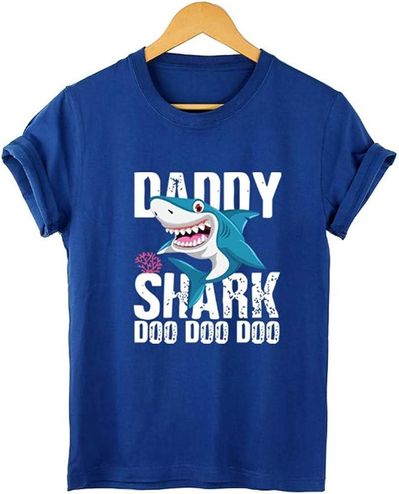 Daddy Shark Doo Doo Doo Mama Baby Shark Doo Doo Matching Family Mens T-Shirts