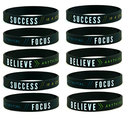 10 pack Success Focus Believe Inspirational product image