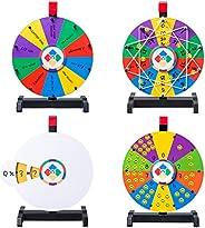 "WinSpin 12"" Spinning Wheel Math Game Kids Teaching Aid Elementary Early Math Skills Homeschool Teaching M"