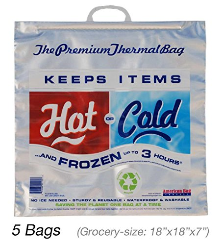Cold Bag Insulated Thermal Grocery product image