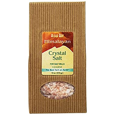 Himalayan Salt Crystal Salt Coarse, 18 Ounce