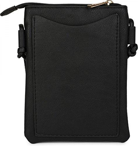 Nero 02012127 Minibag E Tracolla Borsa Stylebreaker Signora Rivetti Colore Recisi Fiori Tracolla A Borsa Occasione qwFxFC6U