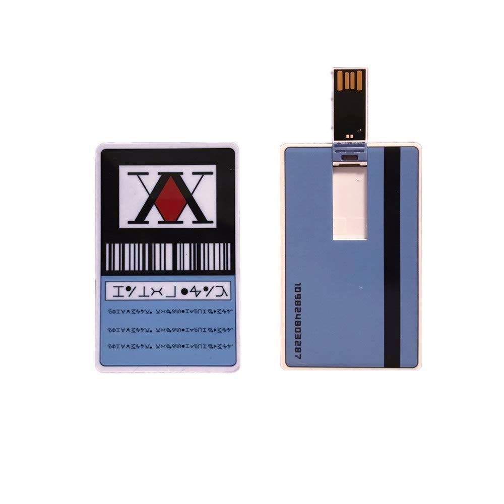 Hunter x Hunter Hunter License Card USB Stick (Blue)