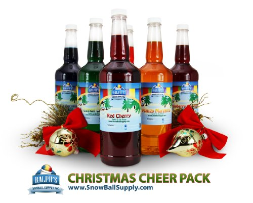 Christmas Party Punch Syrup Pack (6) ()