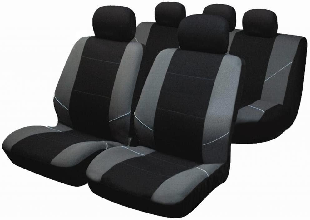 wlw WLW.BY0802.252 Full Set of Car Seat Covers Protectors Airbag Ready