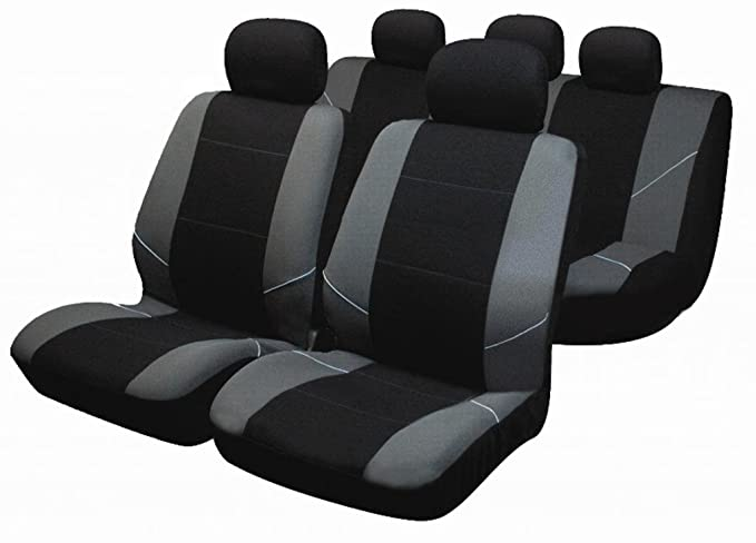 With 7 single seat covers. Shield Autocare TEX14PC-SNGL Full car Seat cover set for 7 SEATER Polyester with 2mm foam