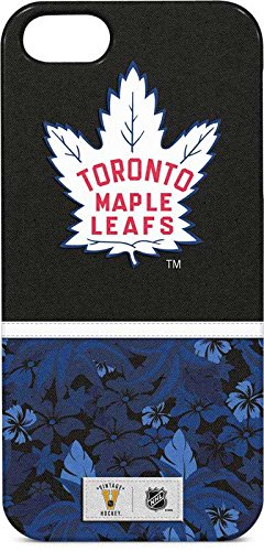 NHL Toronto Maple Leafs iPhone 5/5s/SE Lite Case - Toronto Maple Leafs Retro Tropical Print Lite Case For Your iPhone 5/5s/SE (Toronto Case Iphone Maple Leafs 5)