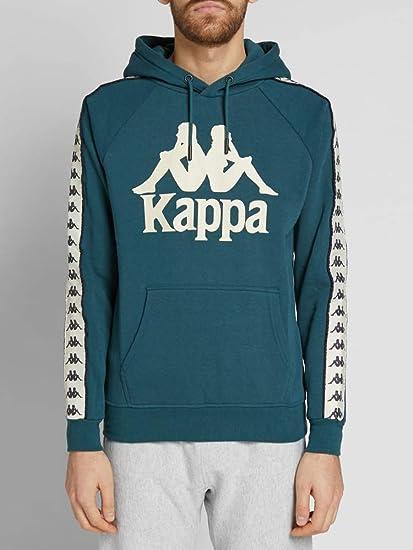 Kappa Mens 222 Banda Hurtado 303WH20 Hoodie in Blue