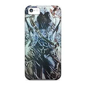 High Quality Phone Cover For Iphone 5c With Allow Personal Design Nice Assassins Creed 3 Series KennethKaczmarek